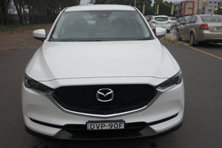 2017 Mazda CX-5 KE1032 Maxx SKYACTIV-Drive i-ACTIV AWD Sport White 6 Speed Sports Automatic Wagon.