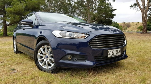 Used Ford Mondeo MD Ambiente Nuriootpa, 2015 Ford Mondeo MD Ambiente Blue 6 Speed Sports Automatic Hatchback