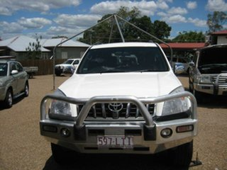 2009 Toyota Landcruiser Prado White Automatic Wagon.