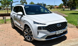 2020 Hyundai Santa Fe Tm.v3 MY21 Highlander DCT Glacier White 8 Speed Sports Automatic Dual Clutch.