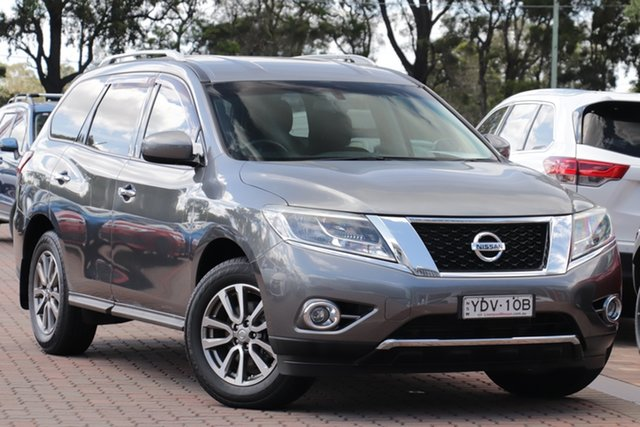 Pre-Owned Nissan Pathfinder R52 MY15 ST X-tronic 2WD Warwick Farm, 2015 Nissan Pathfinder R52 MY15 ST X-tronic 2WD Grey 1 Speed Constant Variable SUV