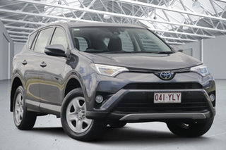 2018 Toyota RAV4 ZSA42R MY18 GX (2WD) Grey Continuous Variable Wagon.
