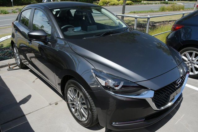 New Mazda 2 DJ2HAA G15 SKYACTIV-Drive Evolve Paradise, 2021 Mazda 2 DJ2HAA G15 SKYACTIV-Drive Evolve Machine Grey 6 Speed Sports Automatic Hatchback