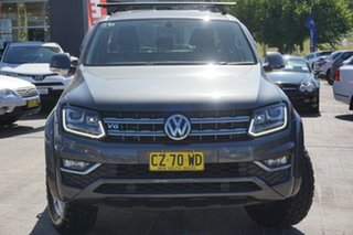 2017 Volkswagen Amarok 2H MY17 TDI550 4MOTION Perm Highline Grey 8 Speed Automatic Utility.
