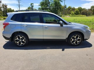2015 Subaru Forester S4 2.5I-S Silver Constant Variable Wagon.