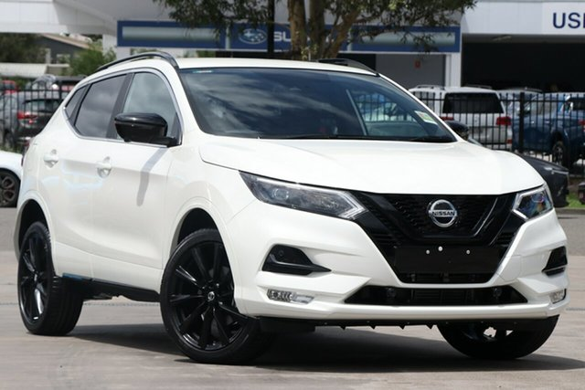New Nissan Qashqai J11 Series 3 MY20 Midnight Edition X-tronic St Marys, 2020 Nissan Qashqai J11 Series 3 MY20 Midnight Edition X-tronic Ivory Pearl 1 Speed