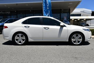 2012 Honda Accord Euro CU MY12 Luxury Navi White 5 Speed Automatic Sedan