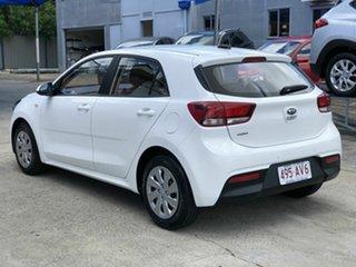 2019 Kia Rio YB MY20 S White 4 Speed Sports Automatic Hatchback.