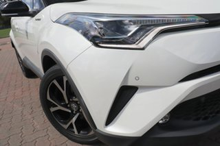 2017 Toyota C-HR NGX10R Koba S-CVT 2WD White 7 Speed Constant Variable SUV.