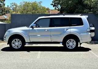 2020 Mitsubishi Pajero NX MY21 GLS Sterling Silver 5 Speed Sports Automatic Wagon.