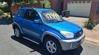 2002 Toyota RAV4 ACA20R Cruiser (4x4) Blue 4 Speed Automatic 4x4 Wagon.