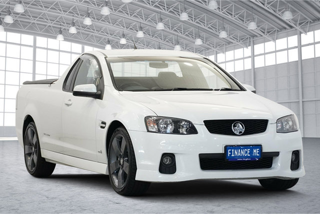 Used Holden Ute VE II SV6 Thunder Victoria Park, 2011 Holden Ute VE II SV6 Thunder White 6 Speed Manual Utility