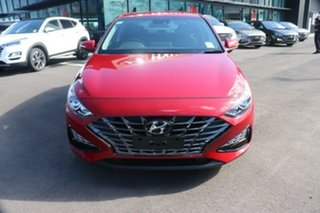 2020 Hyundai i30 PD.V4 MY21 Elite Fiery Red 6 Speed Sports Automatic Hatchback.