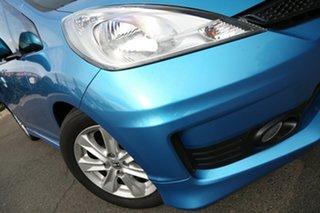 2012 Honda Jazz GE MY12 VTi Cerulean Blue 5 Speed Manual Hatchback.