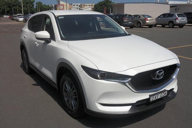 Used Mazda CX-5 KF2W7A Maxx SKYACTIV-Drive FWD Sport Maryville, 2018 Mazda CX-5 KF2W7A Maxx SKYACTIV-Drive FWD Sport White 6 Speed Sports Automatic Wagon