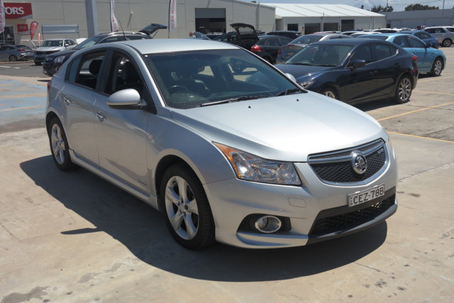 Used Holden Cruze JH Series II MY12 SRi Maryville, 2012 Holden Cruze JH Series II MY12 SRi Silver 6 Speed Manual Hatchback