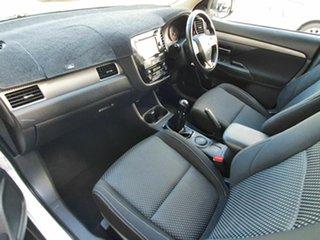 2015 Mitsubishi Outlander LS White 5 Speed Manual Wagon.