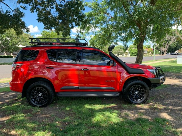 Pre-Owned Holden Trailblazer RG MY18 Z71 Moree, 2017 Holden Trailblazer RG MY18 Z71 Absolute Red 6 Speed Sports Automatic Wagon