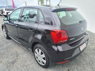 2015 Volkswagen Polo 6R MY15 66TSI DSG Trendline Deep Black Pearl Effect 7 Speed.
