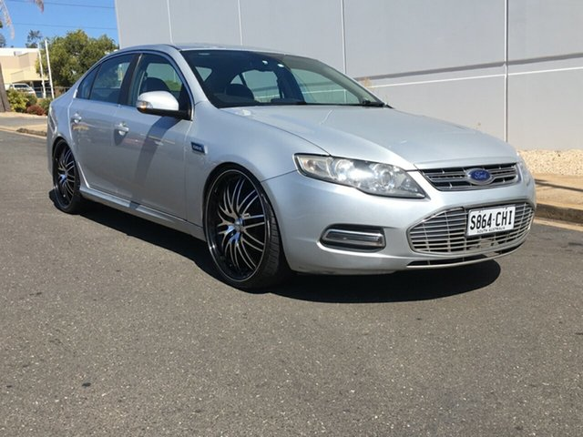 Used Ford Falcon FG MkII G6E EcoLPi Blair Athol, 2012 Ford Falcon FG MkII G6E EcoLPi Silver 6 Speed Sports Automatic Sedan