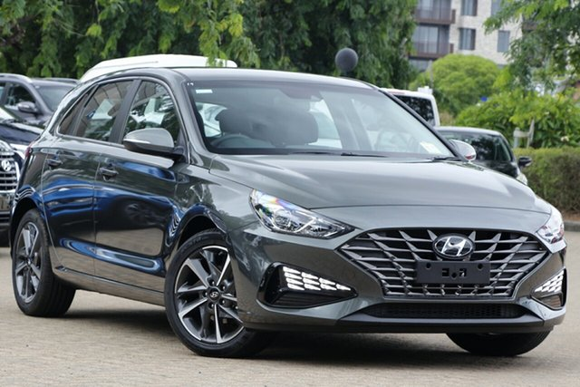 New Hyundai i30 PD.V4 MY21 Active Ravenhall, 2020 Hyundai i30 PD.V4 MY21 Active Amazon Green 6 Speed Sports Automatic Hatchback