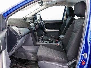 2012 Mazda BT-50 XT (4x4) Blue 6 Speed Manual Dual Cab Utility