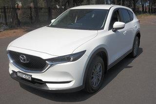2018 Mazda CX-5 KF2W7A Maxx SKYACTIV-Drive FWD Sport White 6 Speed Sports Automatic Wagon.