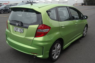 2012 Honda Jazz GE MY12 VTi Green 5 Speed Automatic Hatchback
