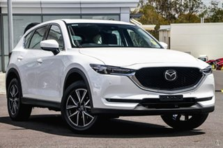 2020 Mazda CX-5 KF4WLA GT SKYACTIV-Drive i-ACTIV AWD White 6 Speed Sports Automatic Wagon.