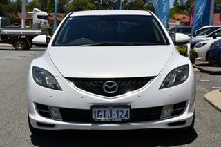 2010 Mazda 6 GH1051 MY09 Classic White 5 Speed Sports Automatic Hatchback