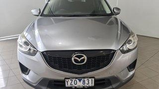 2012 Mazda CX-5 KE1071 Maxx SKYACTIV-Drive Silver 6 Speed Sports Automatic Wagon.