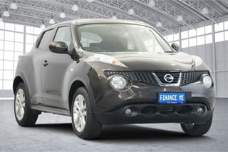 2015 Nissan Juke F15 Series 2 ST X-tronic 2WD Dark Brown 1 Speed Constant Variable Hatchback.