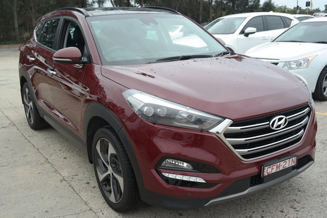 Used Hyundai Tucson TLE Highlander D-CT AWD Maryville, 2015 Hyundai Tucson TLE Highlander D-CT AWD Red 7 Speed Sports Automatic Dual Clutch Wagon