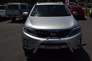 2014 Kia Sorento XM MY14 Platinum 4WD Silver 6 Speed Sports Automatic Wagon.