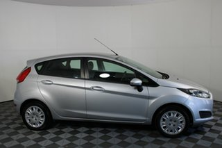 2014 Ford Fiesta WZ Ambiente PwrShift Silver 6 Speed Sports Automatic Dual Clutch Hatchback.