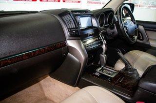 2010 Toyota Landcruiser UZJ200R 09 Upgrade VX (4x4) Ebony 5 Speed Automatic Wagon