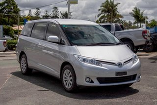 2015 Toyota Tarago ACR50R MY13 GLi Silver Pearl 7 Speed Constant Variable Wagon