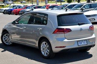 2018 Volkswagen Golf 7.5 MY18 110TSI DSG Silver 7 Speed Sports Automatic Dual Clutch Hatchback.