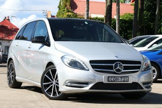 2013 Mercedes-Benz B250 246 MY13 BE Silver 7 Speed Auto Direct Shift Hatchback.
