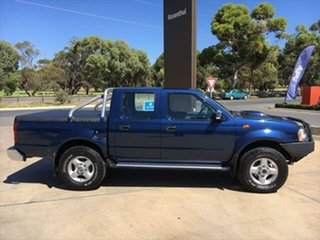 2014 Nissan Navara D22 S5 ST-R Blue 5 Speed Manual Utility.
