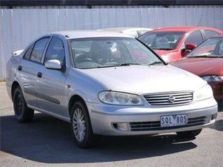 2003 Nissan Pulsar N16 ST-L Silver 4 Speed Automatic Sedan.