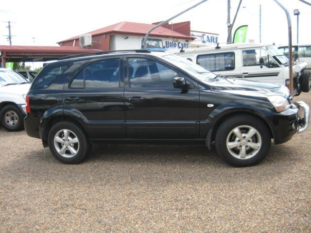 Used Kia Sorento North Ipswich, 2008 Kia Sorento Black Automatic Wagon