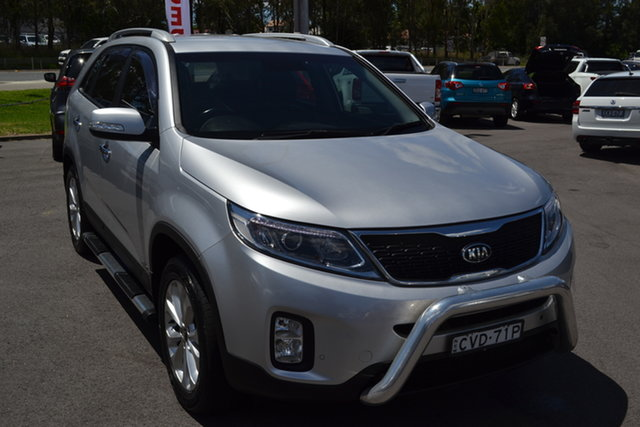 Used Kia Sorento XM MY14 Platinum 4WD Maitland, 2014 Kia Sorento XM MY14 Platinum 4WD Silver 6 Speed Sports Automatic Wagon