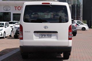 2016 Toyota HiAce KDH201R Crewvan LWB White 4 Speed Automatic Van Wagon