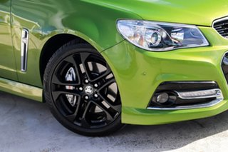 2015 Holden Ute VF MY15 SS V Ute Redline Hot House Green 6 Speed Manual Utility