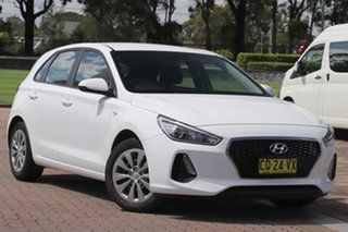 2018 Hyundai i30 PD MY18 Go White 6 Speed Sports Automatic Hatchback.