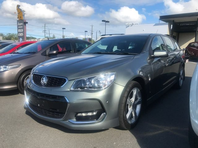 Used Holden Commodore VF II MY16 SV6 Sportwagon Mount Gravatt, 2016 Holden Commodore VF II MY16 SV6 Sportwagon Grey 6 Speed Sports Automatic Wagon
