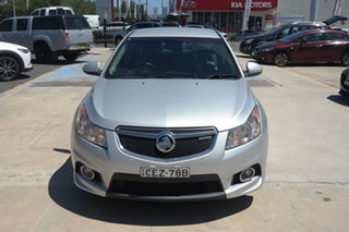 2012 Holden Cruze JH Series II MY12 SRi Silver 6 Speed Manual Hatchback.