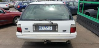 1997 Ford Falcon EL GLi White 4 Speed Automatic Wagon