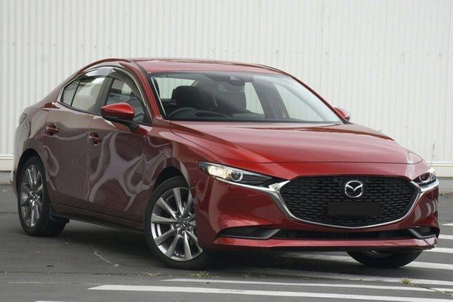 New Mazda 3 BP2SLA G25 SKYACTIV-Drive Evolve Paradise, 2021 Mazda 3 BP2SLA G25 SKYACTIV-Drive Evolve Soul Red 6 Speed Sports Automatic Sedan
